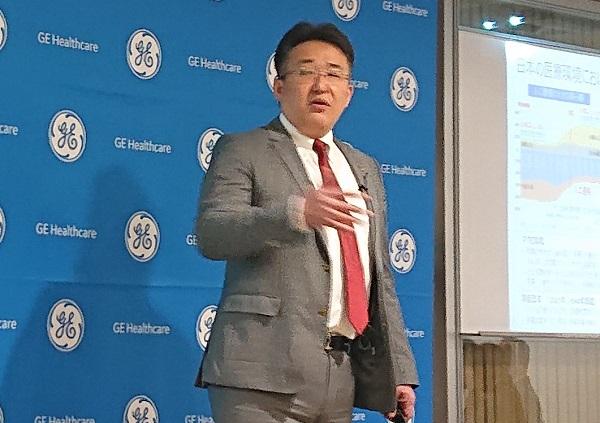 GEヘルスケア・ジャパンが成長戦略を発表、医療機器データに商機