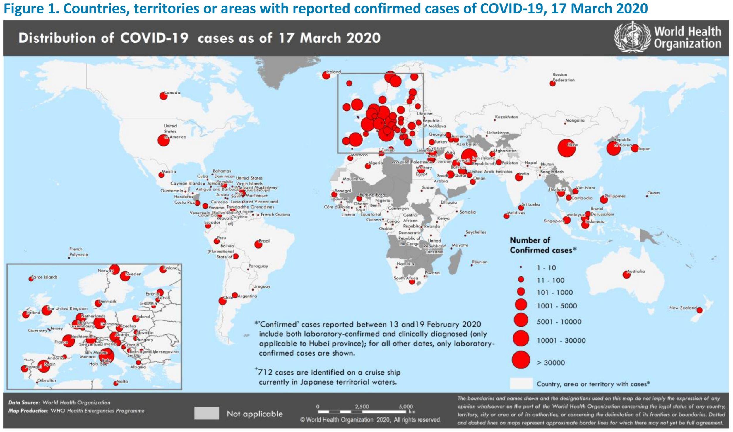 コロナ ウイルス マップ 世界 新型 感染